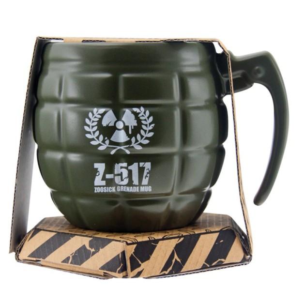 3D Coffee Mug - Grenade