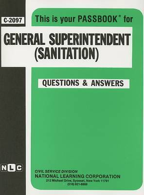 General Superintendent (Sanitation)