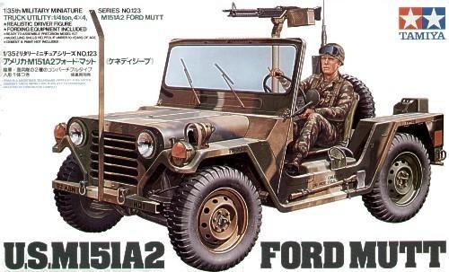 Tamiya U.S. M151A2 Ford Jeep Mutt 1/35 Model Kit
