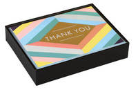 Galison: Thank You Notes - Geometric Pastel Luxe
