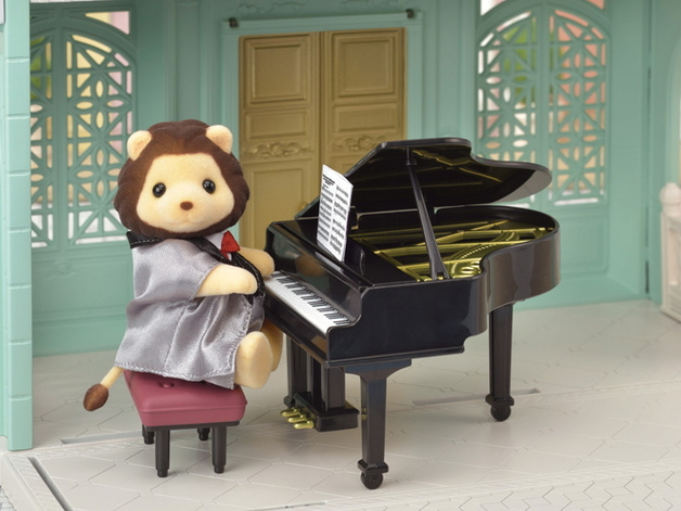 Sylvanian Families: Grand Piano Concert set