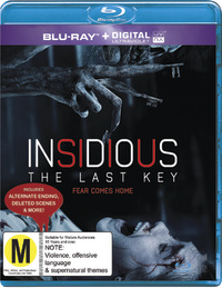 Insidious: The Last Key on Blu-ray