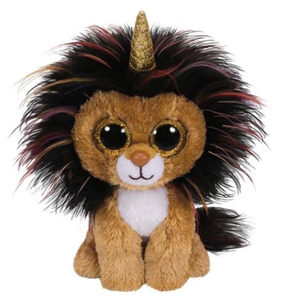 Ty Beanie Boo: Ramsey Lion - Small Plush