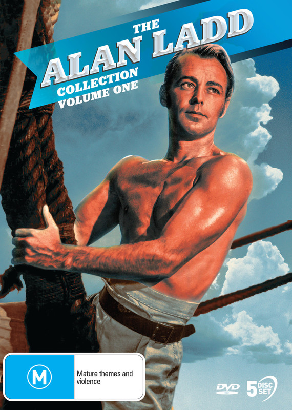 The Alan Ladd Collection: Volume One on DVD