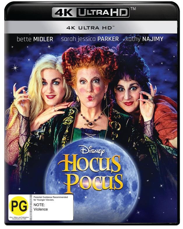Hocus Pocus (4K UHD) on UHD Blu-ray