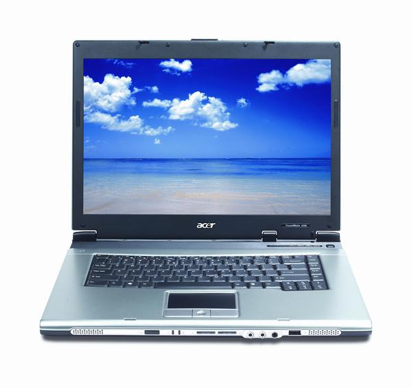 "Acer Laptop TravelMate 4101WLM, Centrino 730, DVDRW 15.4""W XP PRO NC402 image"