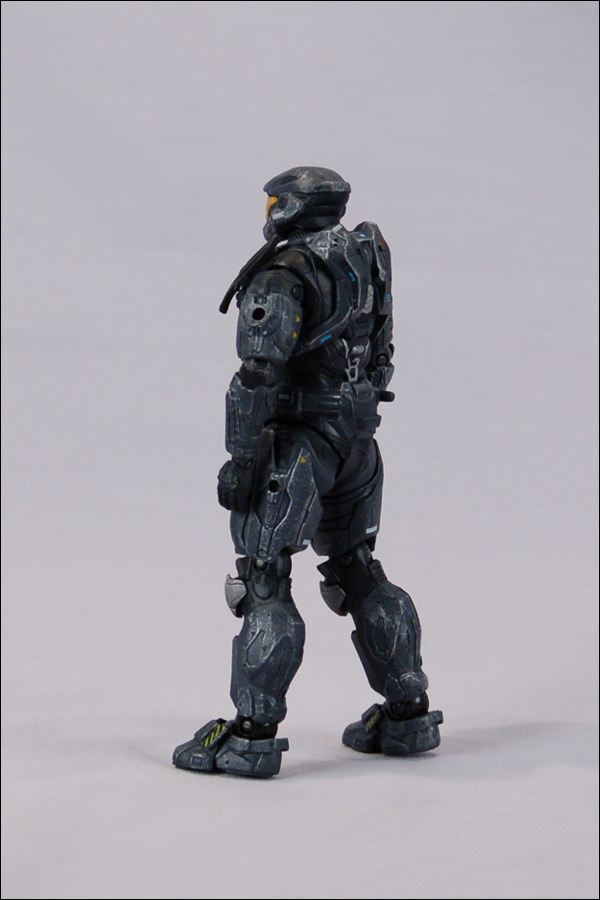Halo Reach Series 4 Action Figure 2-pack - Spartan Hologram (Noble Six and Noble Six Hologram) image