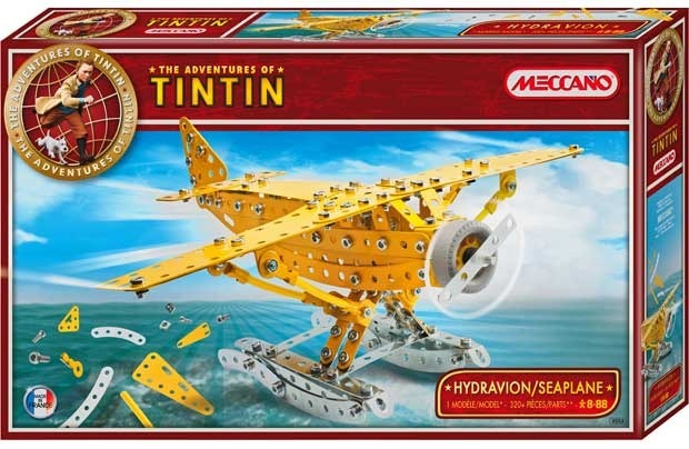 Meccano Adventures of Tintin Kit - Seaplane