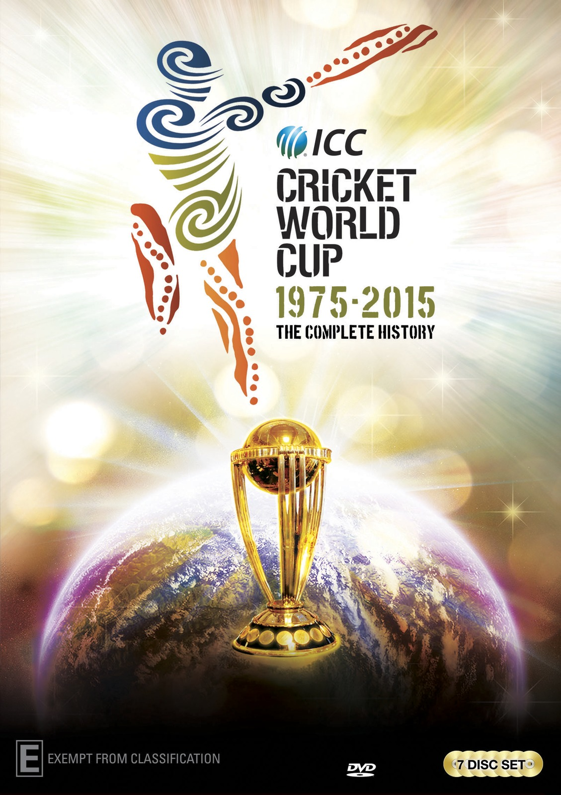 ICC Cricket World Cup: The Complete History on DVD image