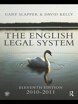 The English Legal System: 2010-2011 by David Kelly