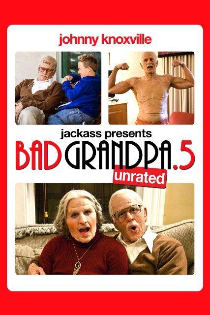 Jackass Presents: Bad Grandpa .5 on DVD