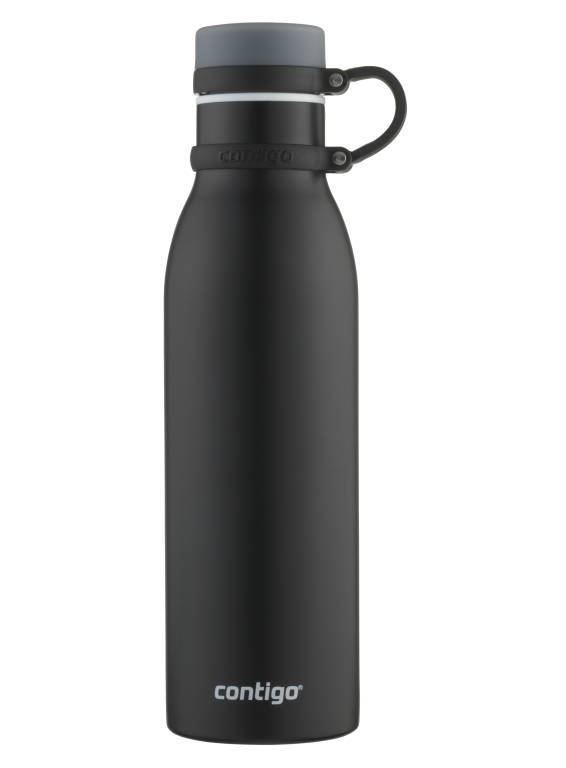 Contigo: Matterhorn Bottle - Matte Black (591ml)