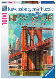 Ravensburger : Retro New York Puzzle (1000 Pcs)
