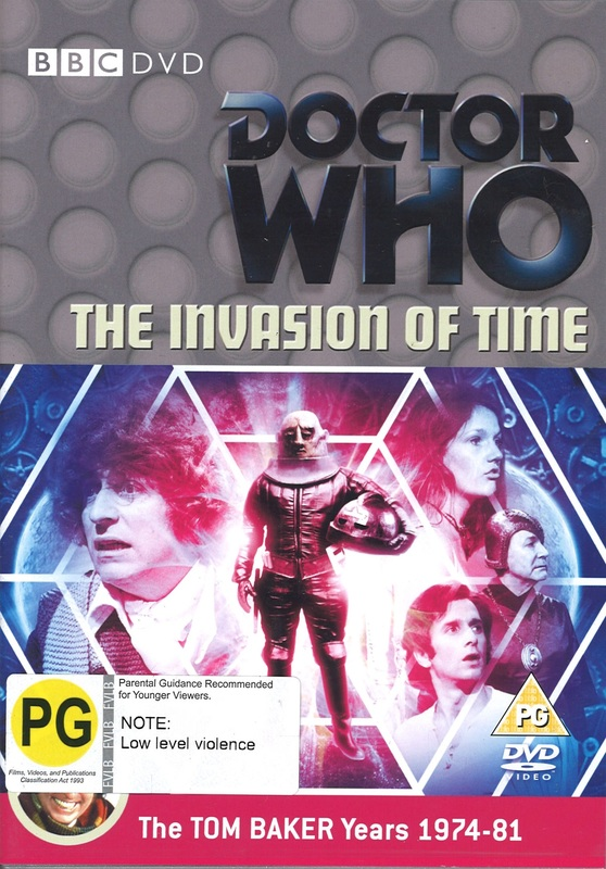 Doctor Who: The Invasion of Time on DVD