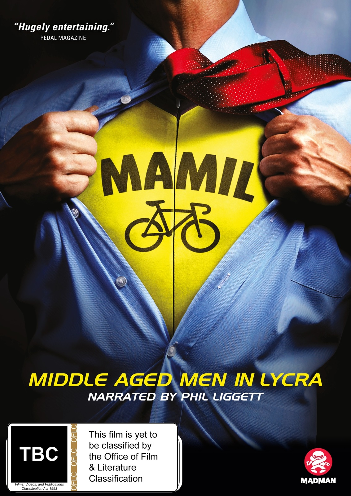 Mamil: Middle Aged Men In Lycra on DVD image