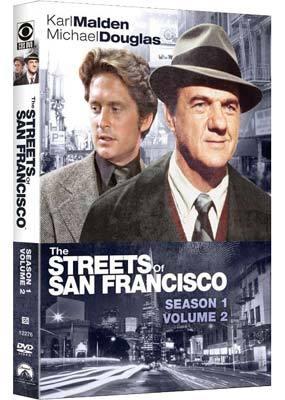 The Streets Of San Francisco - Season 1: Volume 2 (4 Disc Set) on DVD