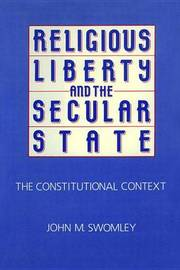Religious Liberty and the Secular State by John M. Swomley image