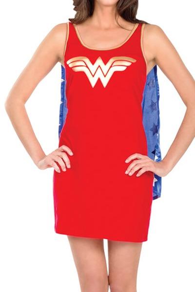 Wonder Woman Tank Dress (Medium)