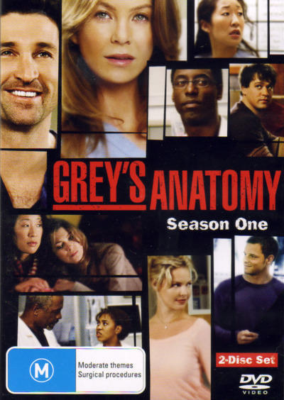 Grey's Anatomy - Season 1 (2 Disc) on DVD