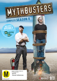 MythBusters: Complete Season 8 on DVD, Blu-ray