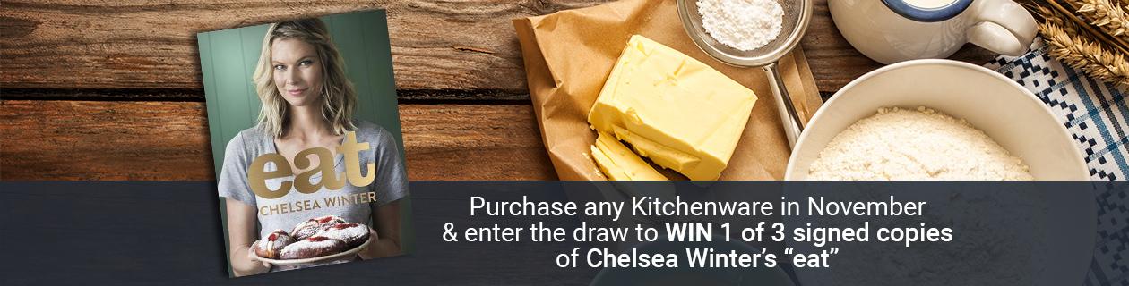 Chelsea Winter Cookbook Giveaway!
