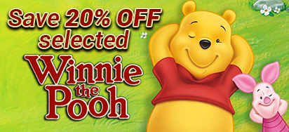 20% off select Winnie the Pooh!