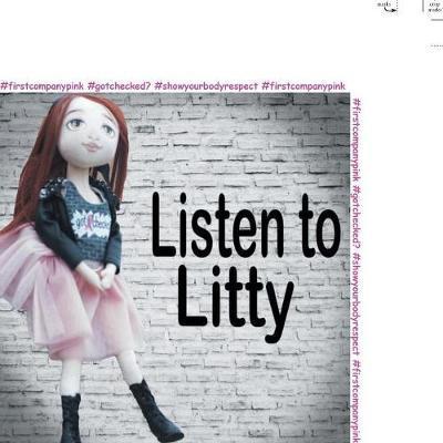 Listen to Litty . . . by Linda Bonanno image