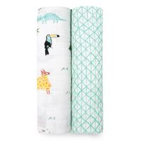 Aden + Anais: Classic Swaddle - Around The World (2 Pack)