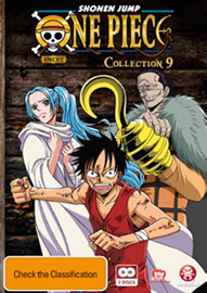 One Piece (Uncut) Collection 9 (2 Disc Set) on DVD