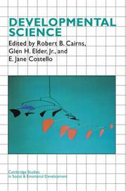 Cambridge Studies in Social and Emotional Development image
