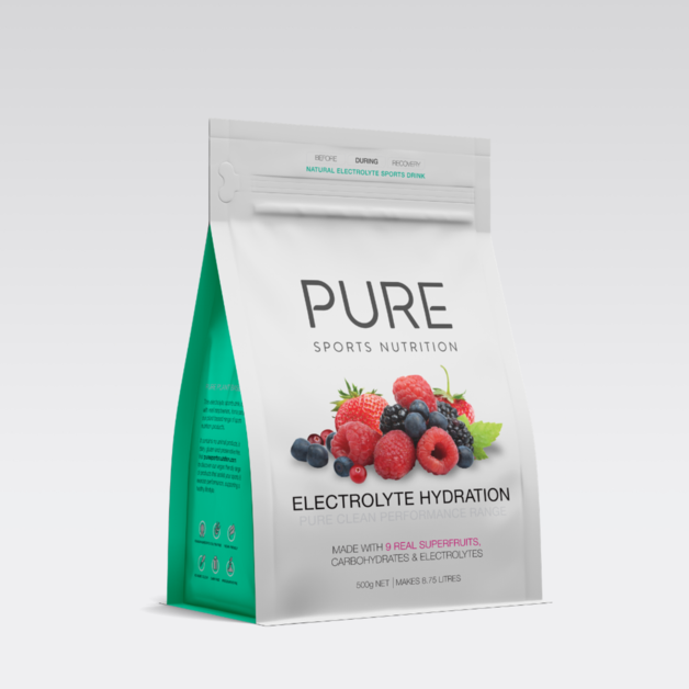PURE Electrolyte Hydration Pouch - Superfruits (500g)