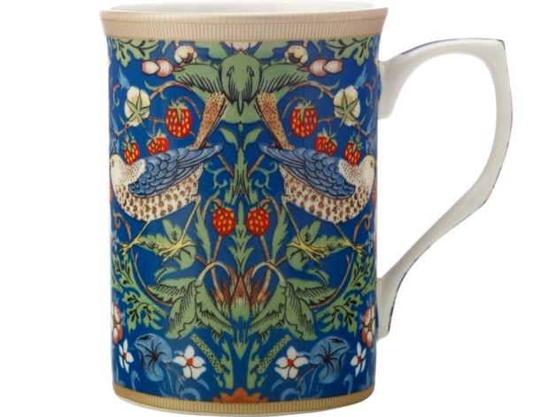 Casa Domani: William Morris Mug - Strawberry Thief Blue (300ml)