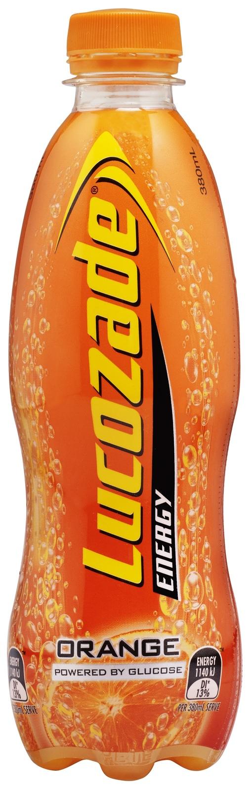 Lucozade - Orange (380ml) image