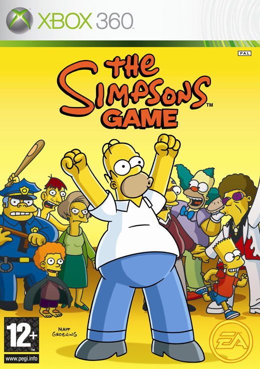 The Simpsons Game (Classic) for Xbox 360
