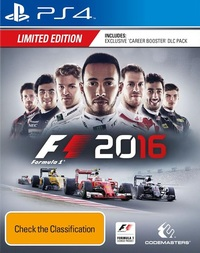 F1 2016 Limited Edition for PS4