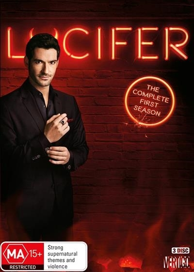 Lucifer: The Complete First Season on DVD image