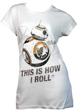 Star Wars BB-8 Rollin T-Shirt (Size 8)