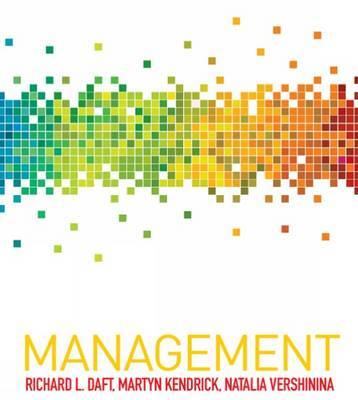 Management by Richard L Daft