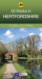 50 Walks in Hertfordshire by AA Publishing
