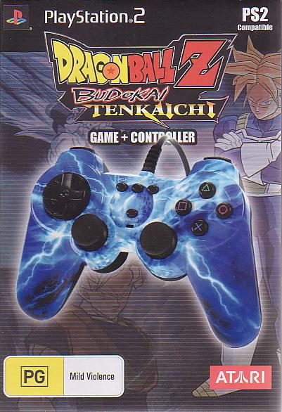 Dragon Ball Z Budokai Tenkaichi + Controller image