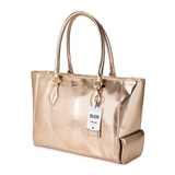 Blush: Insulated Wine Tote - (Rose Gold)