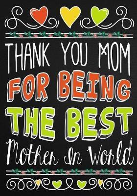 Mom Appreciation Book by Pretty Notebooks