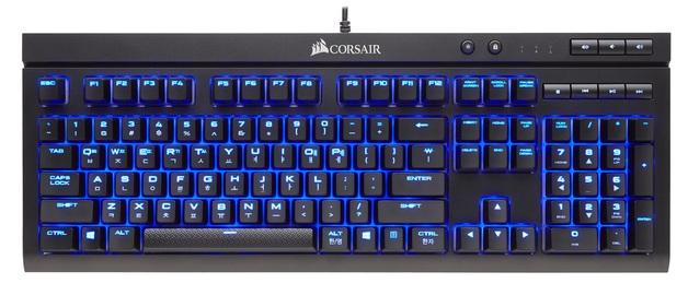Corsair K68 Mechanical Gaming Keyboard (Cherry MX Blue) for PC