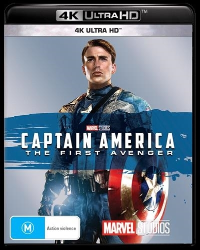 Captain America: The First Avenger on UHD Blu-ray image