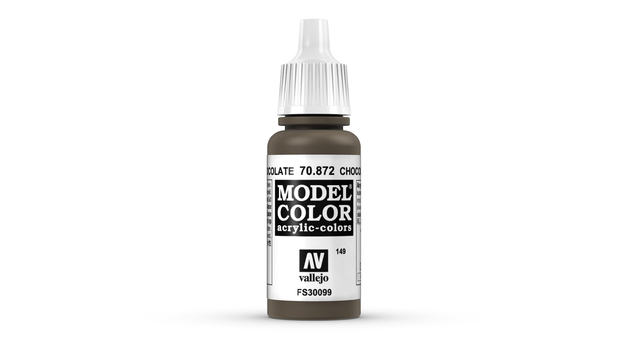 Vallejo Model Colour Chocolate Brown 17ml