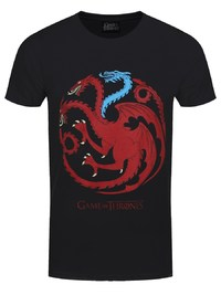 Game of Thrones: Ice Dragon T Shirt (L) image