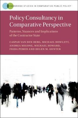 Policy Consultancy in Comparative Perspective by Caspar van den Berg