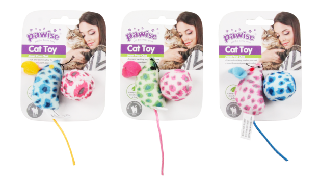 Pawise: Cat Toy - Mice & Ball