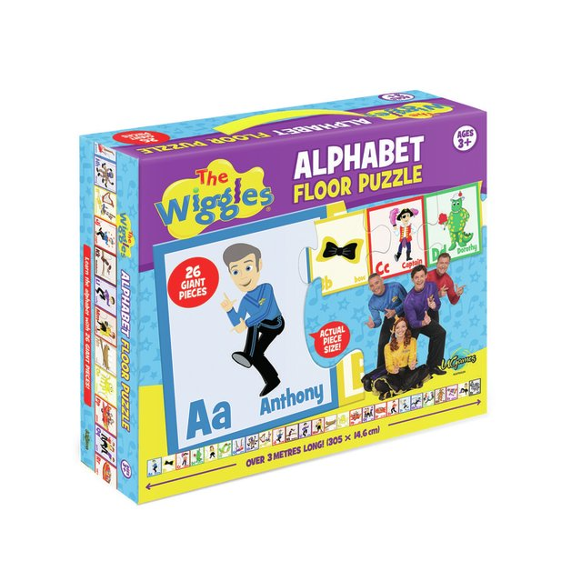 The Wiggles: Alphabet Floor Puzzle (26 piece)