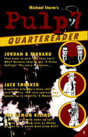 The Pulp7 Quartereader - Book One by Michael Storm image